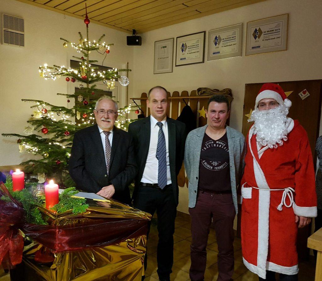 2016.12.17 - Weihnachtsfeier des FC Hopferstadt 1