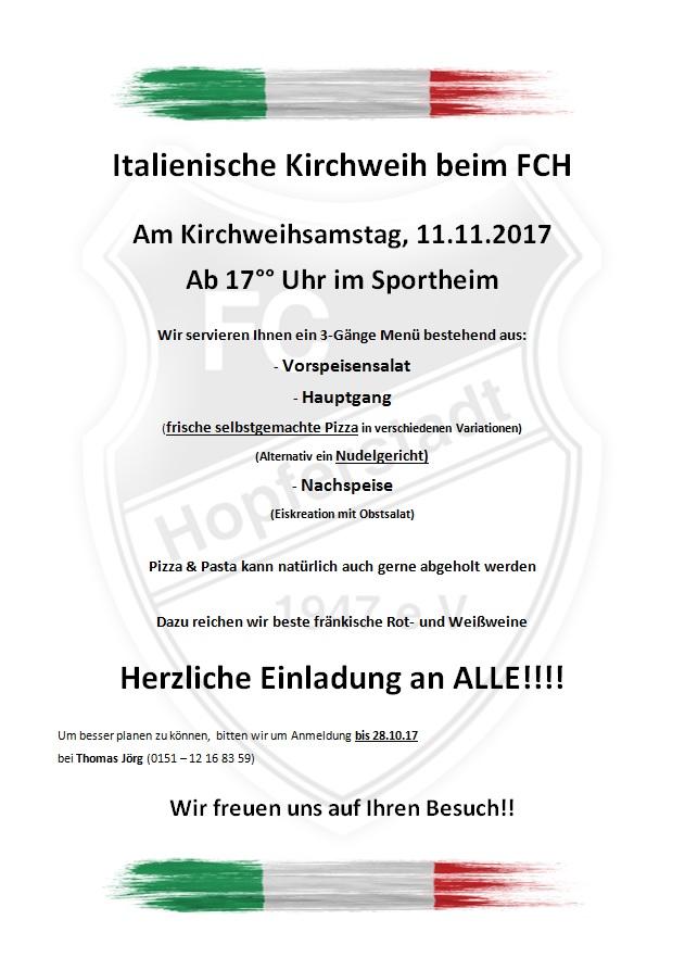 FCH Kirchweih 2017