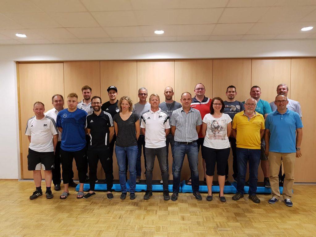 FC Hopferstadt Vorstandschaft 2018