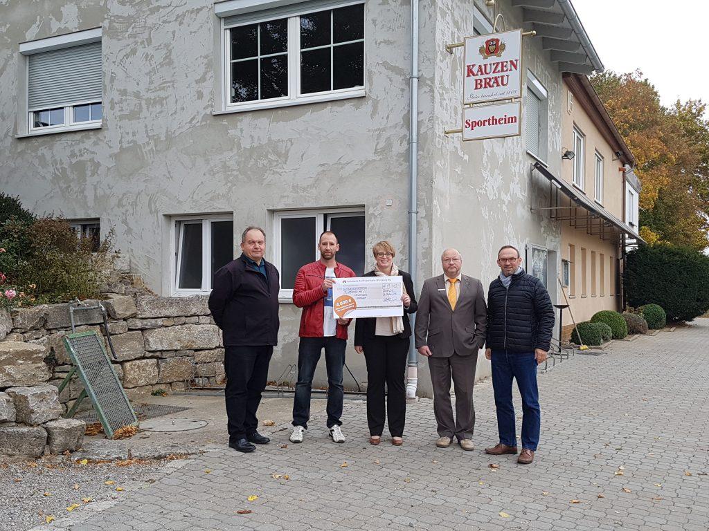 2018.11.05 - Gewinnsparen 2018 Aussenputz Sportheim 1