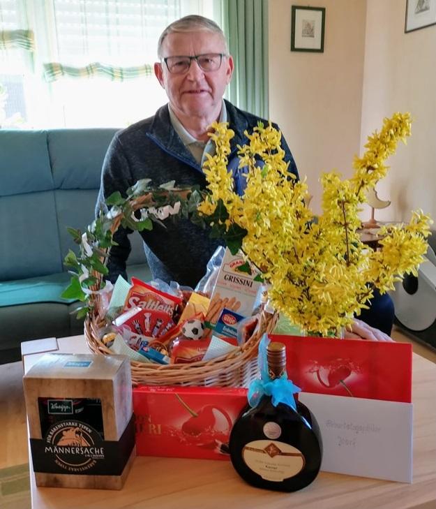 Ehrenvorsitzender Josef Wiehl feiert 75. Geburtstag