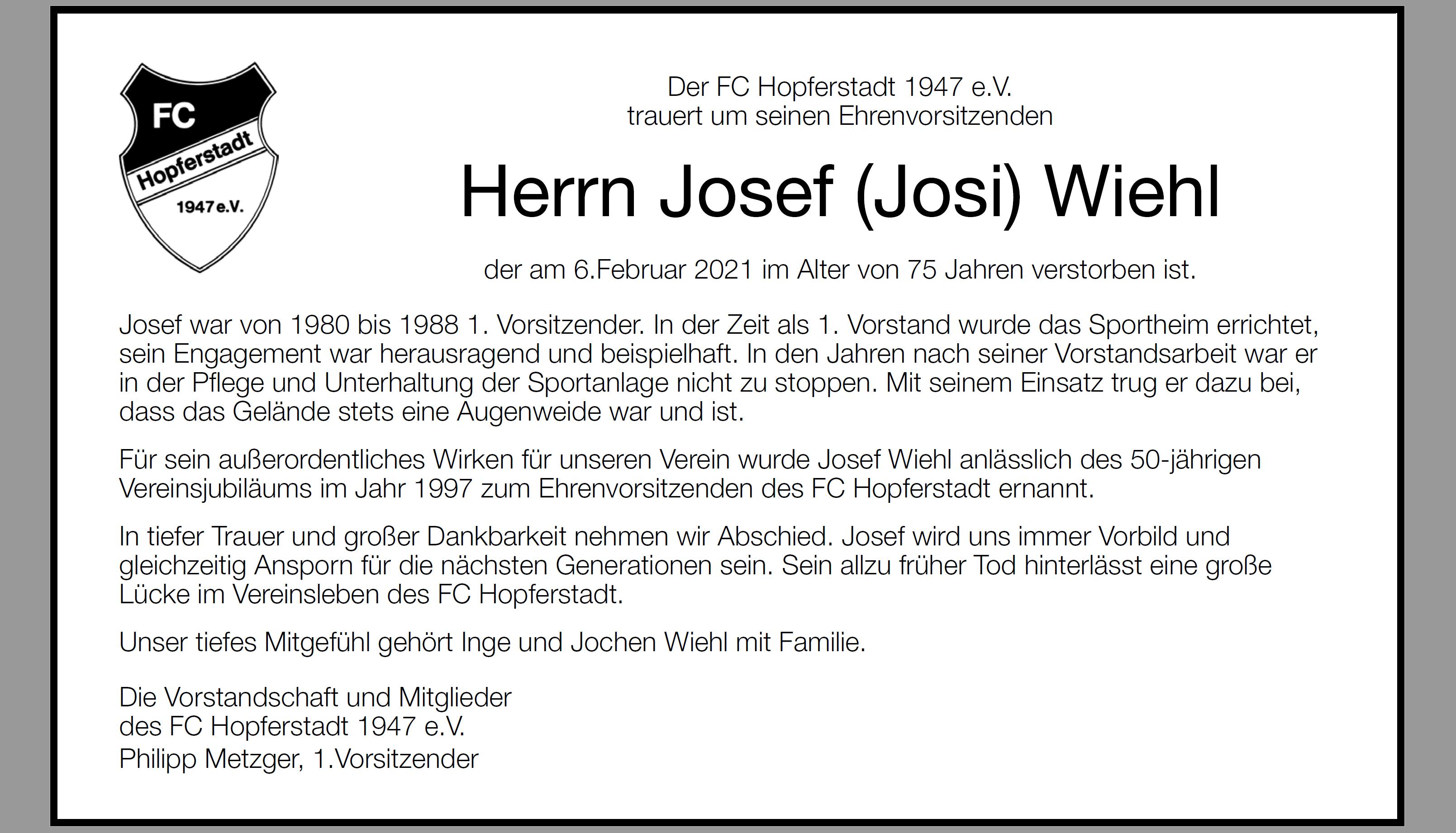 Josef Wiehl